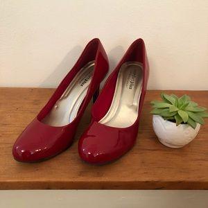 Red pumps | comfort plus